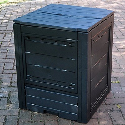 FunkyBuys-Garden-Eco-Compost-Converter-Bin-260L-Capacity-Compogreen-Composter-Recycling-Box-Garden-Waste-0