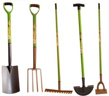 Green-Blade-BB-GR101-12-Teeth-Carbon-Steel-Garden-Rake-with-PVC-Grip-0