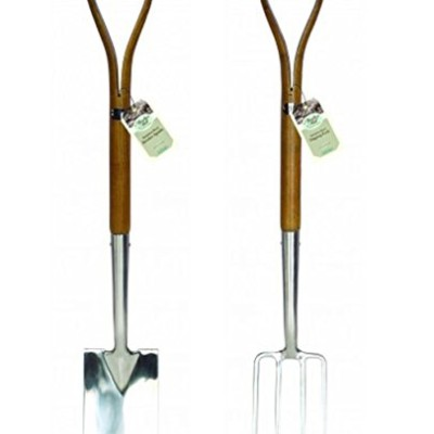 Moulton-Mill-Stainless-Steel-Border-Spade-Fork-Set-0