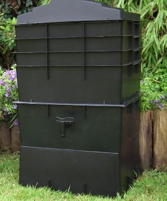 UK-Made-Wormcity-Wormery-4-Composting-Trays-100-Litre-Size-Black-Includes-Worms-0