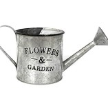 Vintage-Style-Garden-Galvanised-Metal-Planter-Watering-Can-Design-0