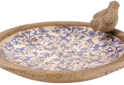 Esschert-Design-AC10-11-x-34-x-34cm-Ceramic-Bird-Bath-Multi-Colour-0