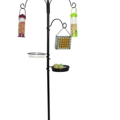 KINGFISHER-BLACK-METAL-GARDEN-WILD-BIRD-CARE-TRADITIONAL-FEEDING-STATION-BFS-0