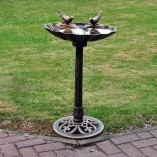 KINGFISHER-TRADITIONAL-BRONZE-EFFECT-GARDEN-OUTDOOR-BIRD-BATH-TABLE-WEATHERPROOF-0