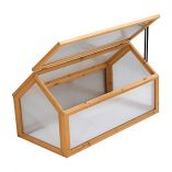 Garden-Grow-Wooden-Outdoor-Cold-Frame-Grow-House-Polycarbonate-Shelter-for-Garden-Vegetables-Plants-0-0