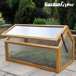 Garden-Grow-Wooden-Outdoor-Cold-Frame-Grow-House-Polycarbonate-Shelter-for-Garden-Vegetables-Plants-0-3