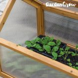 Garden-Grow-Wooden-Outdoor-Cold-Frame-Grow-House-Polycarbonate-Shelter-for-Garden-Vegetables-Plants-0-5