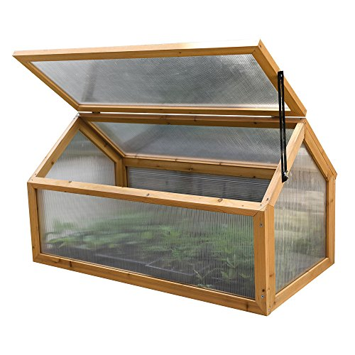 Garden-Grow-Wooden-Outdoor-Cold-Frame-Grow-House-Polycarbonate-Shelter-for-Garden-Vegetables-Plants-0