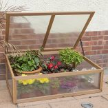 Woodside-Outdoor-Wooden-Plant-Flower-Vegetable-Cold-Frame-Growhouse-0-0