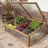 Woodside-Outdoor-Wooden-Plant-Flower-Vegetable-Cold-Frame-Growhouse-0-1