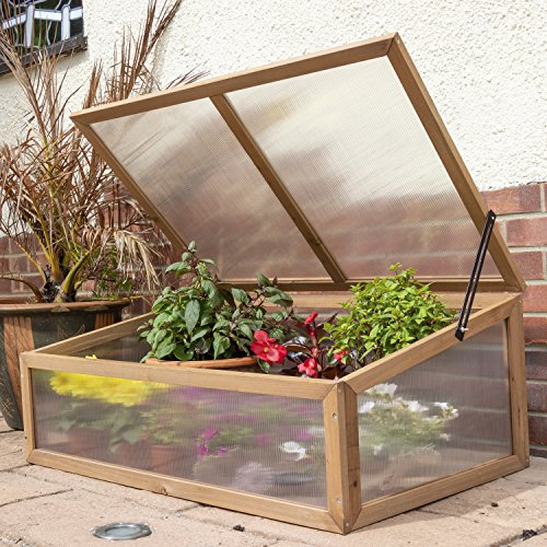 Woodside-Outdoor-Wooden-Plant-Flower-Vegetable-Cold-Frame-Growhouse-0