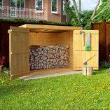 6×3-Overlap-Wooden-Pent-Bike-Log-Tool-Storage-Double-Door-Roof-Felt-Store-Shed-6ft-x-3ft-0-1