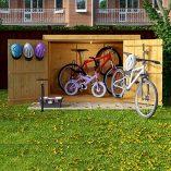 6×3-Overlap-Wooden-Pent-Bike-Log-Tool-Storage-Double-Door-Roof-Felt-Store-Shed-6ft-x-3ft-0-4