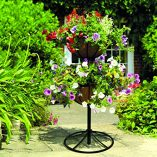 Gardman-00903-2-Tier-Georgian-Flower-Fountain-Black-0-0