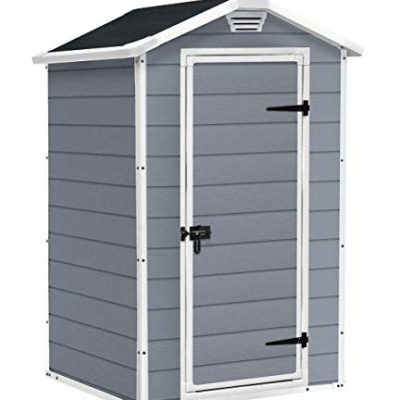 Keter-Manor-Outdoor-Plastic-Garden-Storage-Shed-Grey-4-x-3-ft-0