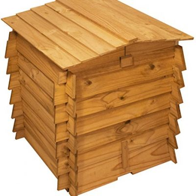 Lacewing-Beehive-Wooden-Composter-with-Double-Hinged-Roof-328L-0