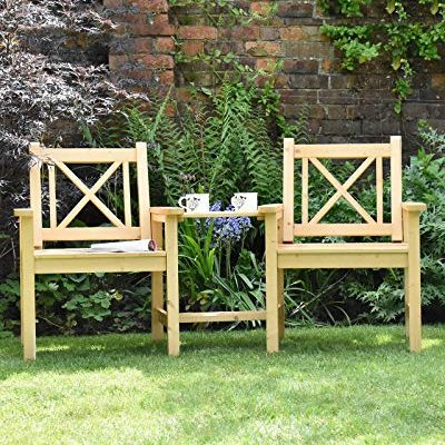 Sue-Ryder-Garden-Companion-Seat-2-Seater-Tete-a-Tete-Solid-Natural-Wood-Outdoor-Seat-Traditional-Furniture-0