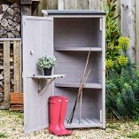 Wooden-Small-Shed-Storage-Tool-Utility-Stone-Garden-0-0